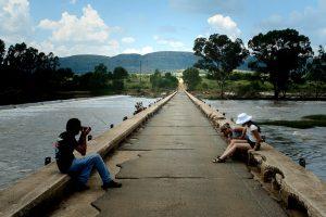 Photoshoot on the Vaal Bridge