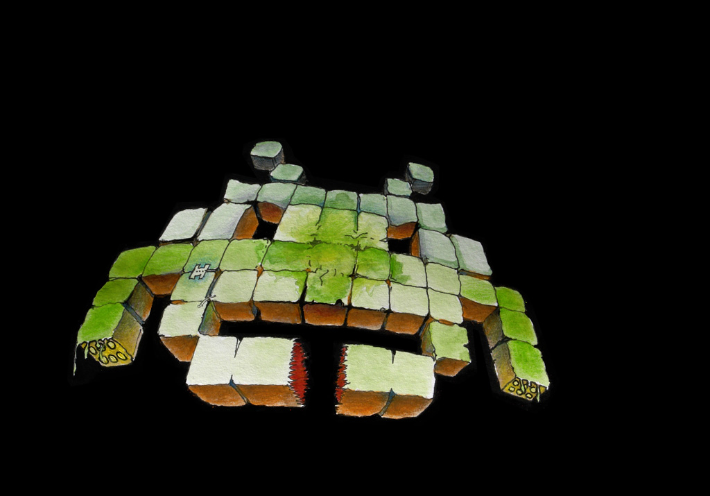 Fish Cartoons Space Invader | John P...