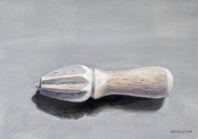 Oil Painting of a Citrus Squeezer