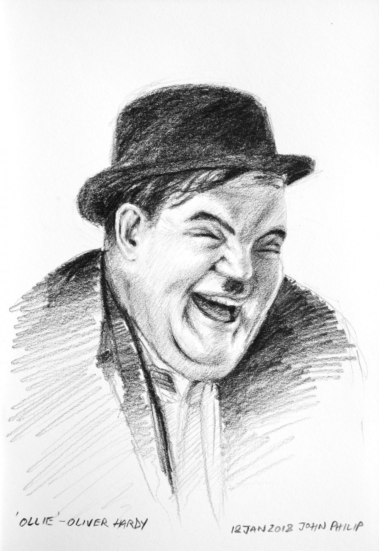 "Oliver Hardy - Actor from the show ""Laurel and Hardy"""