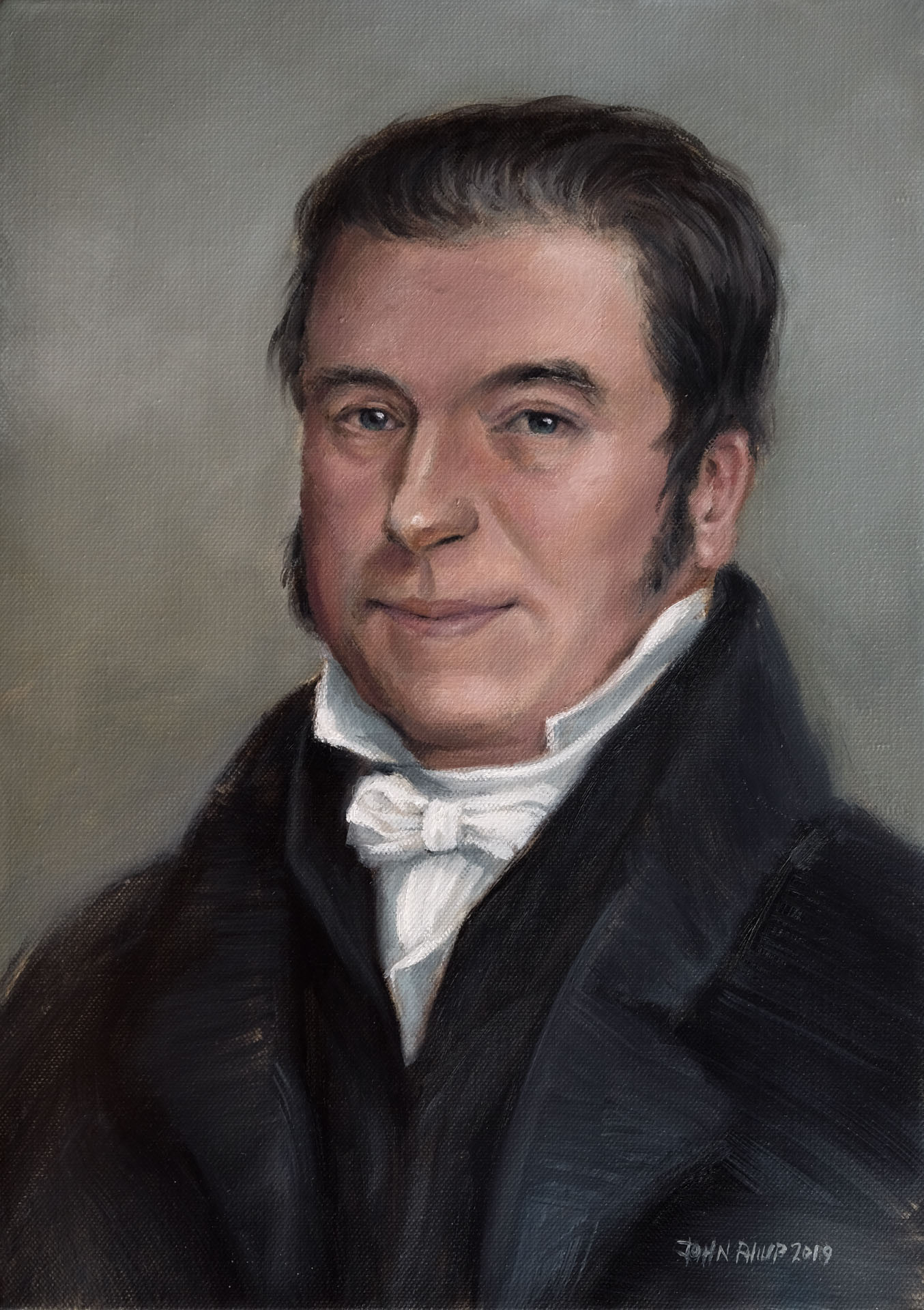 Painting of South African Missionary, Dr John Philip